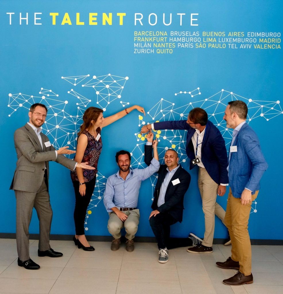 the talent route